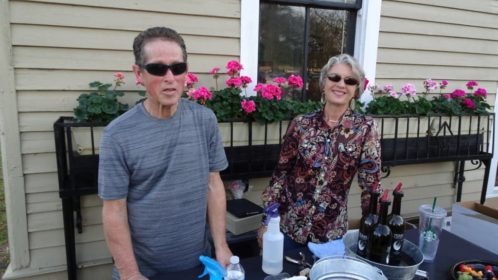 David and Regina Staggs - Texas SouthWind Vineyard & Winery