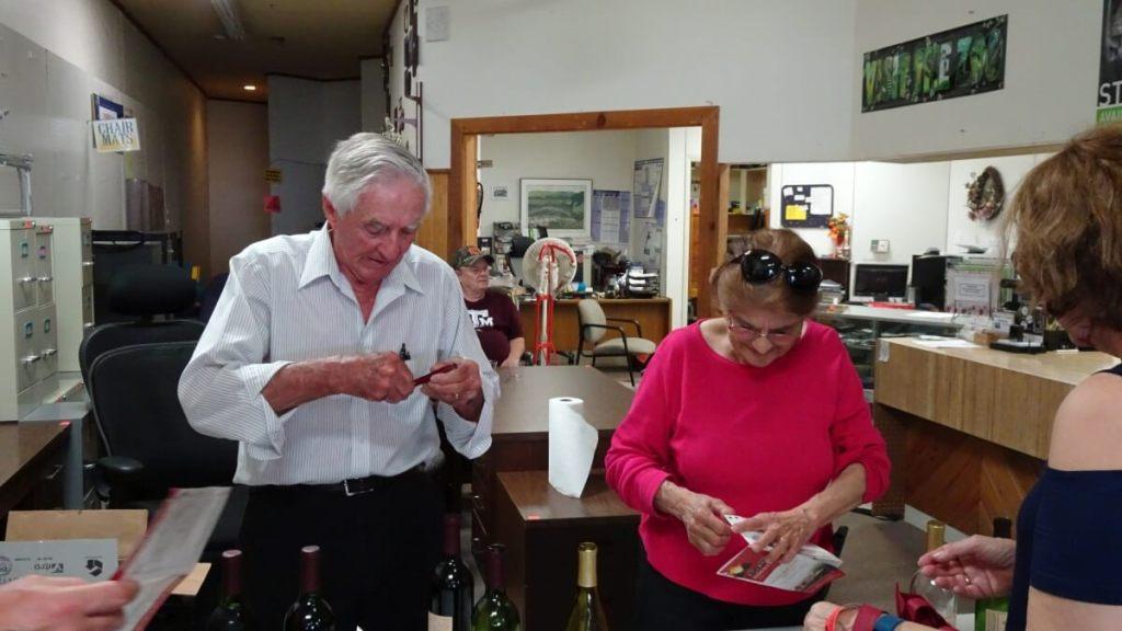 Emmett and Beatrice Schulze - Rosemary's Vineyard & Winery