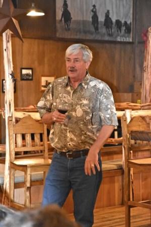 Jim Evans of Lost Oak Winery
