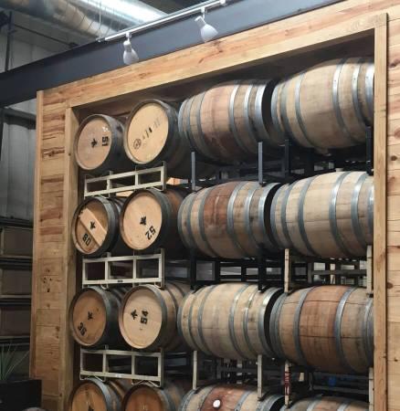 Barrels at The Austin Winery
