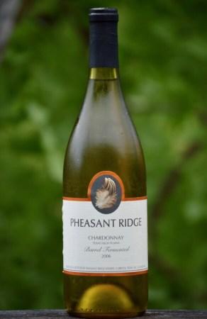 Pheasant Ridge Winery Chardonnay full bottle
