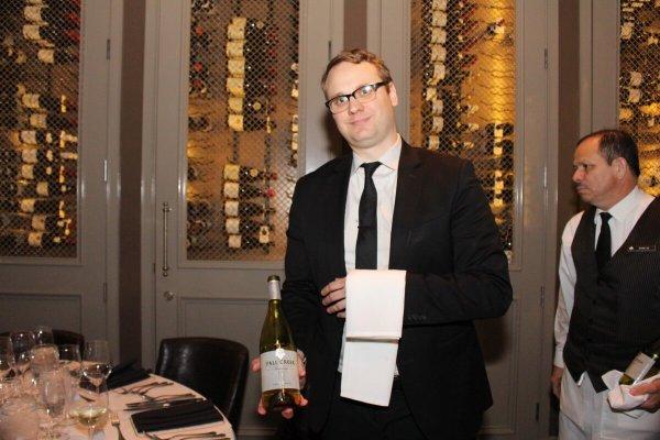Serving Chardonnay
