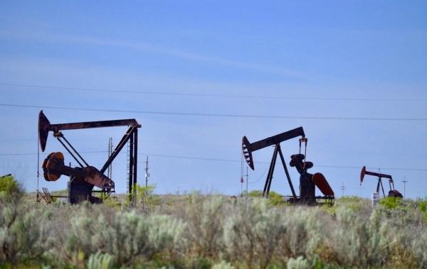Texas High Plains oil rigs