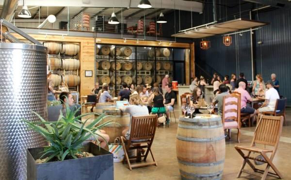 The Austin Winery tasting room