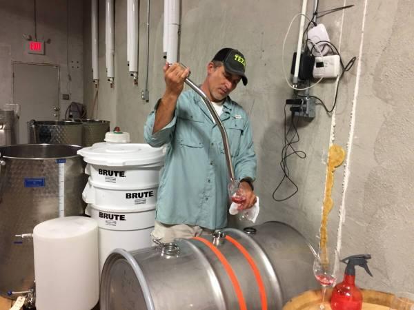 Dan McLaughlin barrel tasting