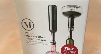Menu Wine Breather box
