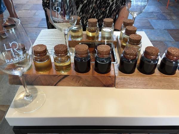 4R Ranch tasting bottles