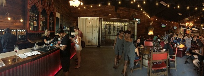 Braman Winery and Brewery tasting room