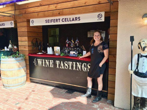 State Fair of Texas - Seifert Cellars and owner Brenda Kowen