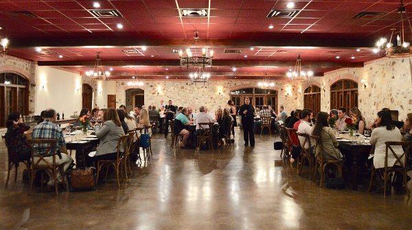 Texas Fine Wine dinner