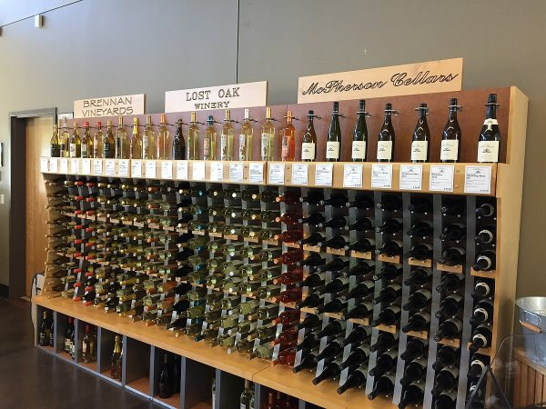 4.0 Cellars white wines