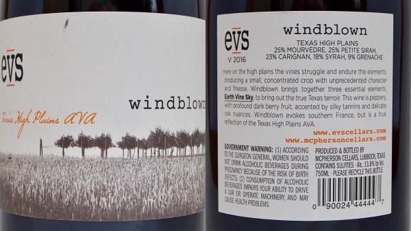 EVS Windblown labels