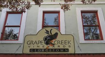 Grape Creek Georgetown building