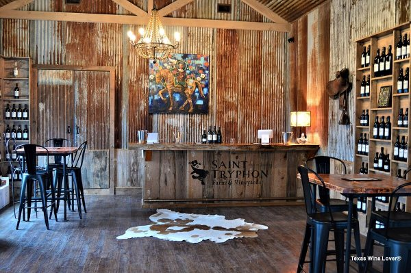 Saint Tryphon Tasting Room