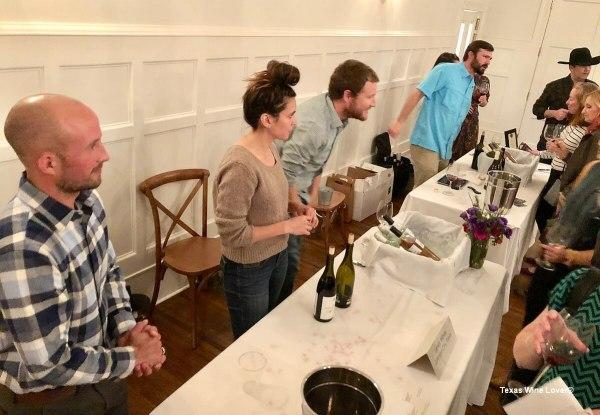 Texas Wine Growers Lewis Wines booth