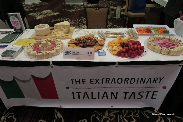 Taste of Italy food booth