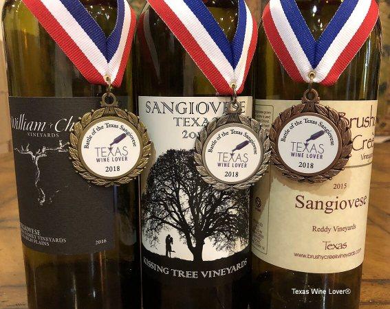 Sangiovese top three wines