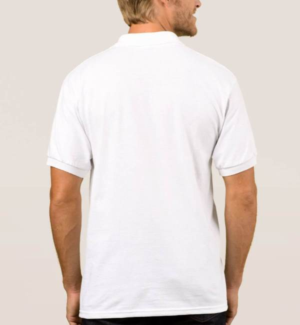 Texas Wine Lover Men's Polo Shirt back