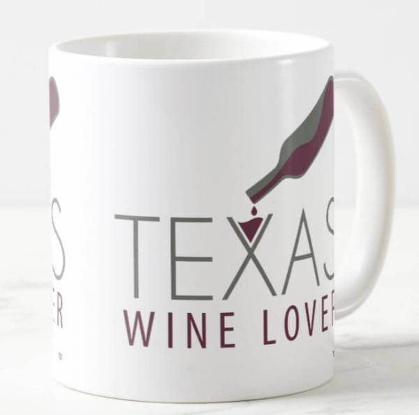 Texas Wine Lover mug front right