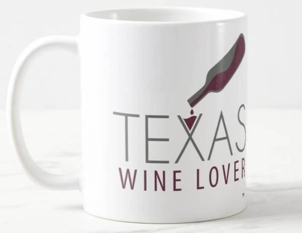 Texas Wine Lover mug left