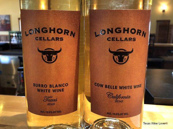 Longhorn Cellars wine
