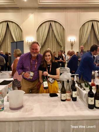 Kim McPherson and daughter Kassandra pouring at Grand Tasting