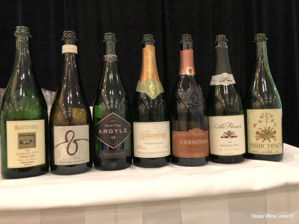 New World Sparkling Wines at TEXSOM