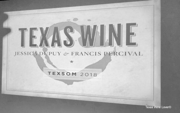 Texas Wine sign