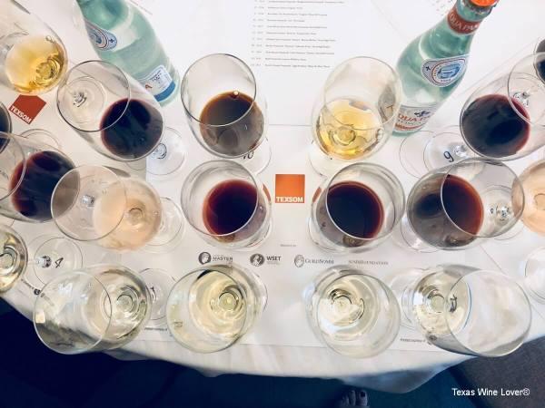 Texas wines at the Texas Wine Seminar
