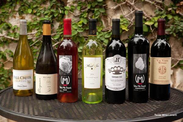 Wines at Cabernet Grill