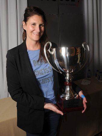 Julie Dalton 2018 Iron Sommelier winner