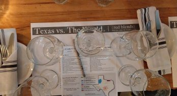 Texas vs The World November 2018 placemat
