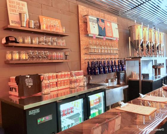 Bishop Cider Co tasting bar
