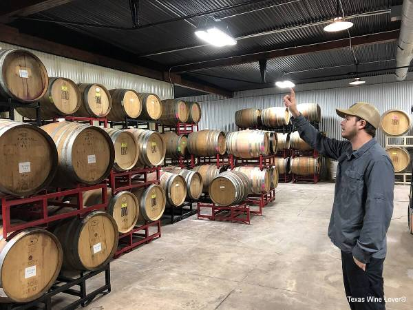 Rancho Loma Vineyards production tour by Michael Hellman