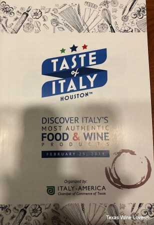 """The """"Taste of Italy – Houston"""" sponsored by the Italy-America Chamber of Commerce of Texas"""