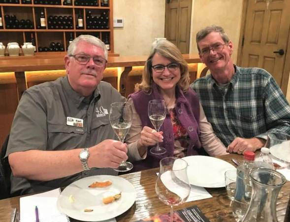 Carl Hudson, Laurie Ware, Shelly Ware