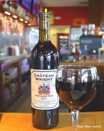 Château Wright Heraldic Red