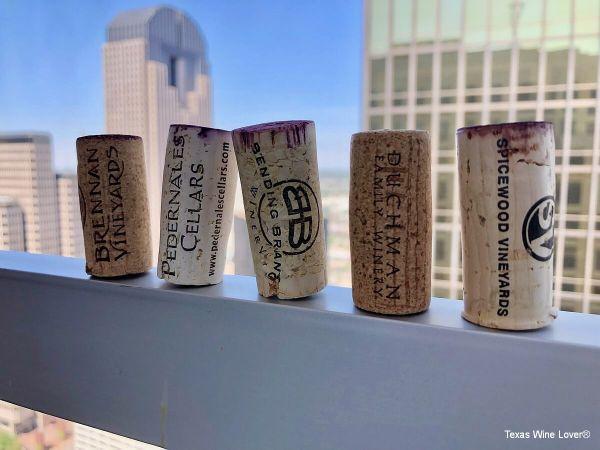Texas Fine Wine corks