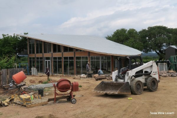 William Chris Vineyards new wine club building