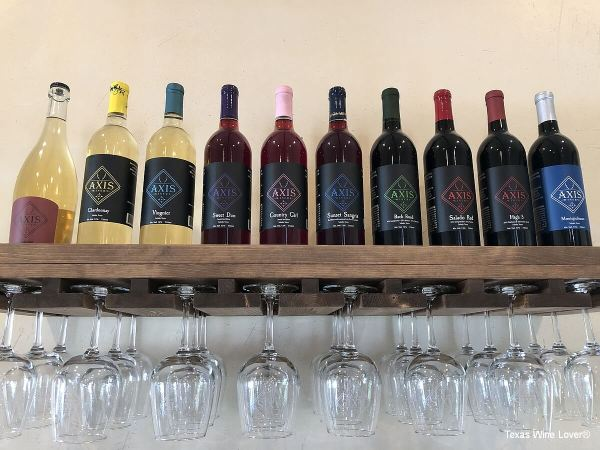 Axis Winery wines