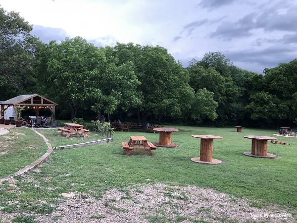 Cassaro Winery back lawn