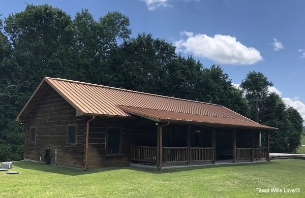 West Sandy Creek Winery cabin