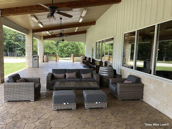 West Sandy Creek Winery patio