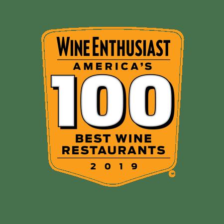 Wine Enthusiast Top 100 Wine Restaurant 2019