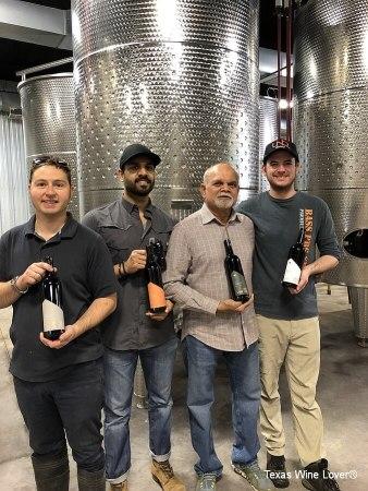 Crew: Eric Sigmund, Alahil Reddy, Vijay Reddy, Michael Hellman
