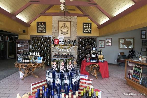 Messina Hof tasting room and gift shop