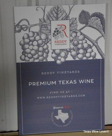 Reddy Vineyards sign