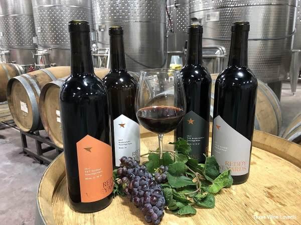 Reddy Vineyards wine