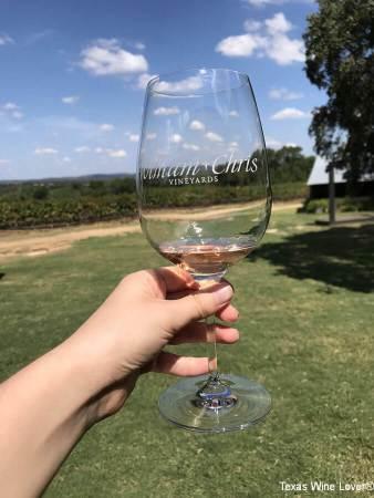 William Chris Vineyards glass