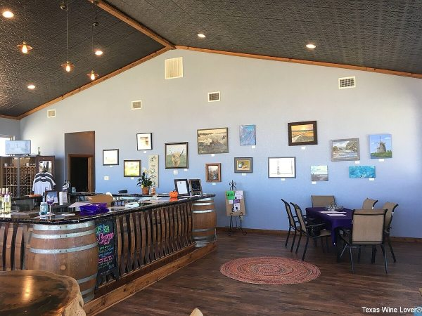 Fitzel winery inside with gallery